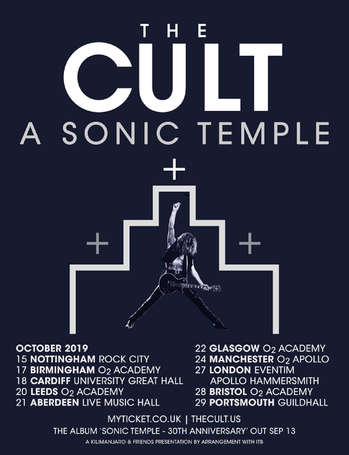 THE CULT Announce 'Sonic Temple' 30th Anniversary Reissues