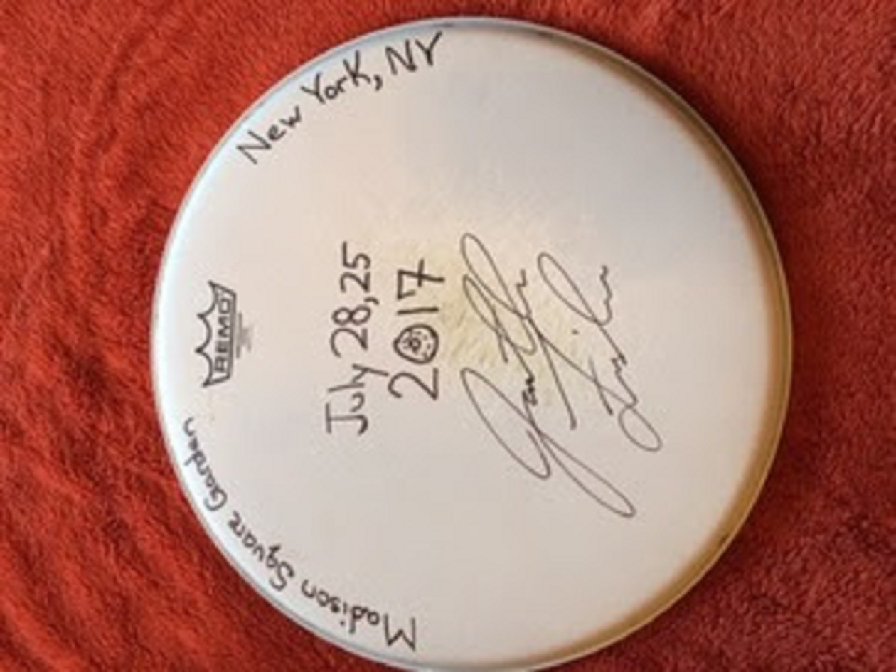 Phish Baker's Dozen Drumhead Charity Auction