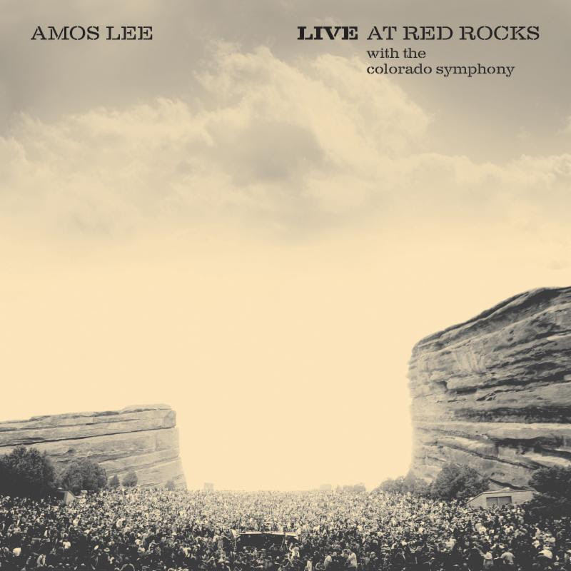 "Amos Lee Releases New Album ""Live at Red Rocks With The Colorado Symphony"" Today"