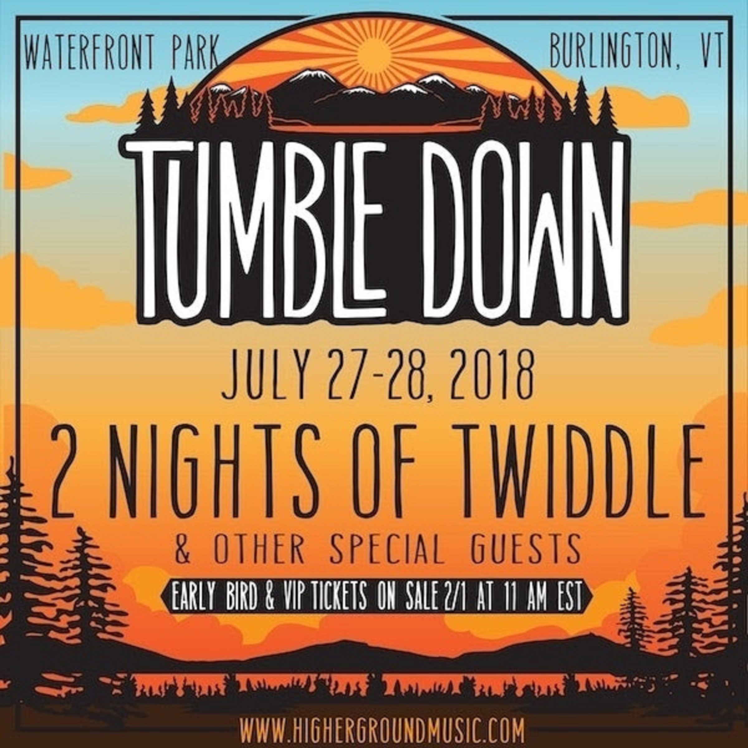 Twiddle's Tumble Down Returns to Waterfront on July 27th & 28th