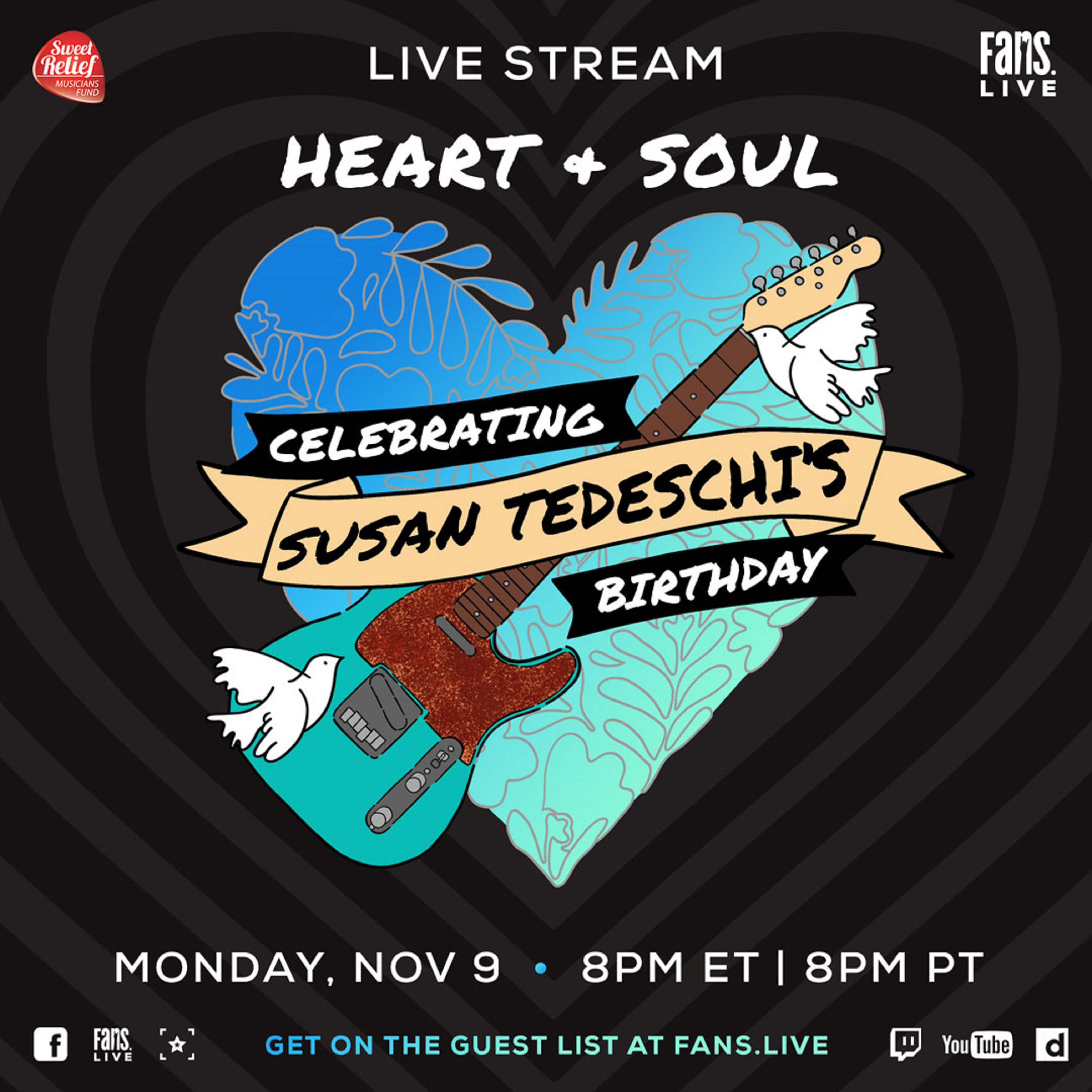 Susan Tedeschi's Birthday Celebration LiveStream