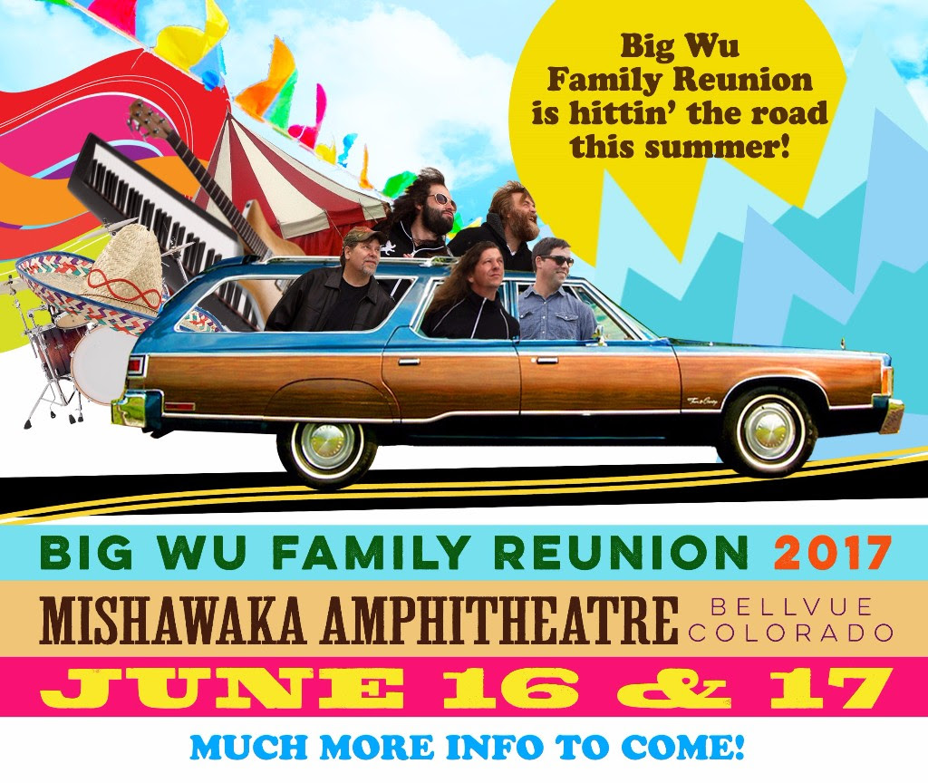 Big Wu Family Reunion Heads to Colorado