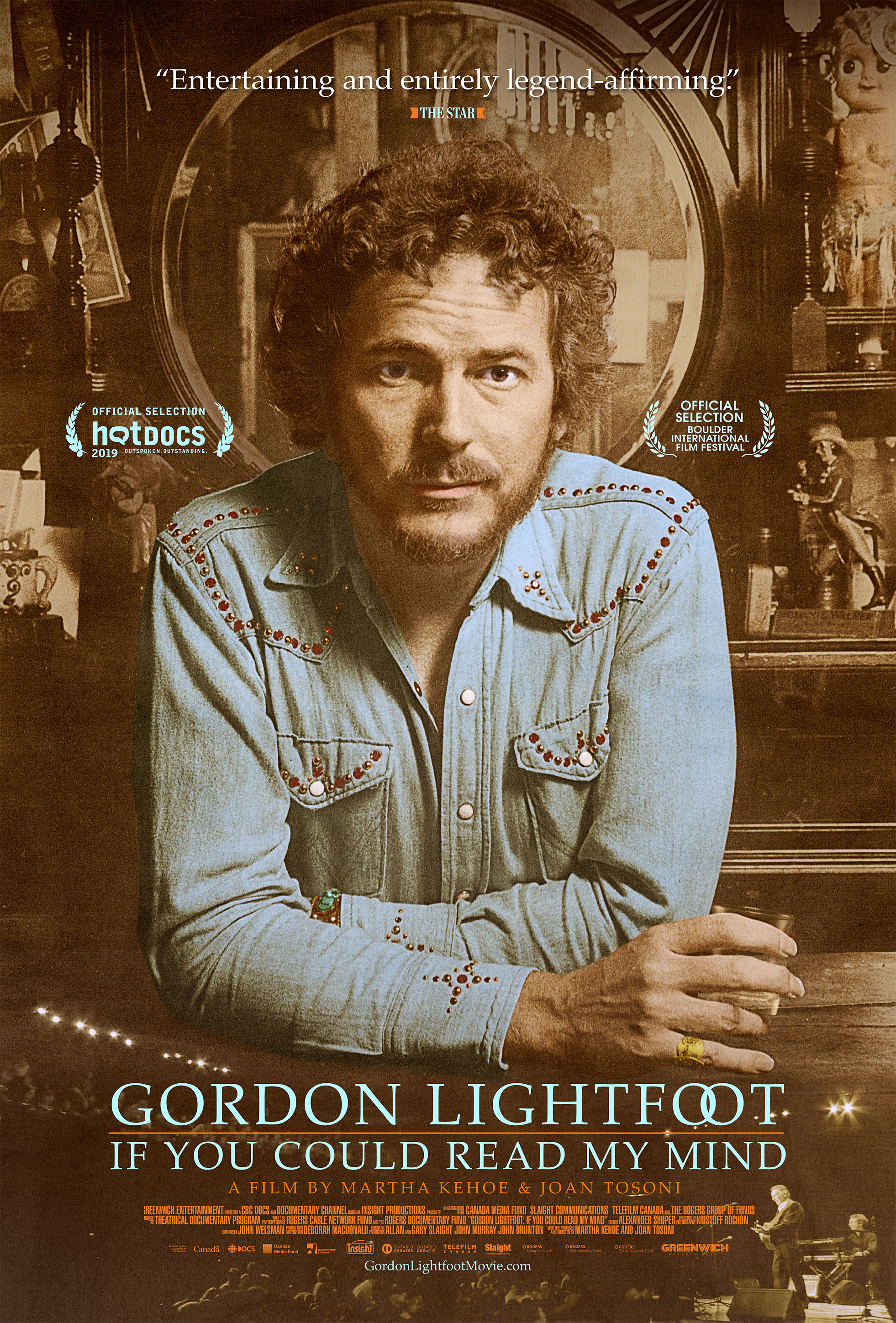 'Gordon Lightfoot: If You Could Read My Mind' Out This Summer