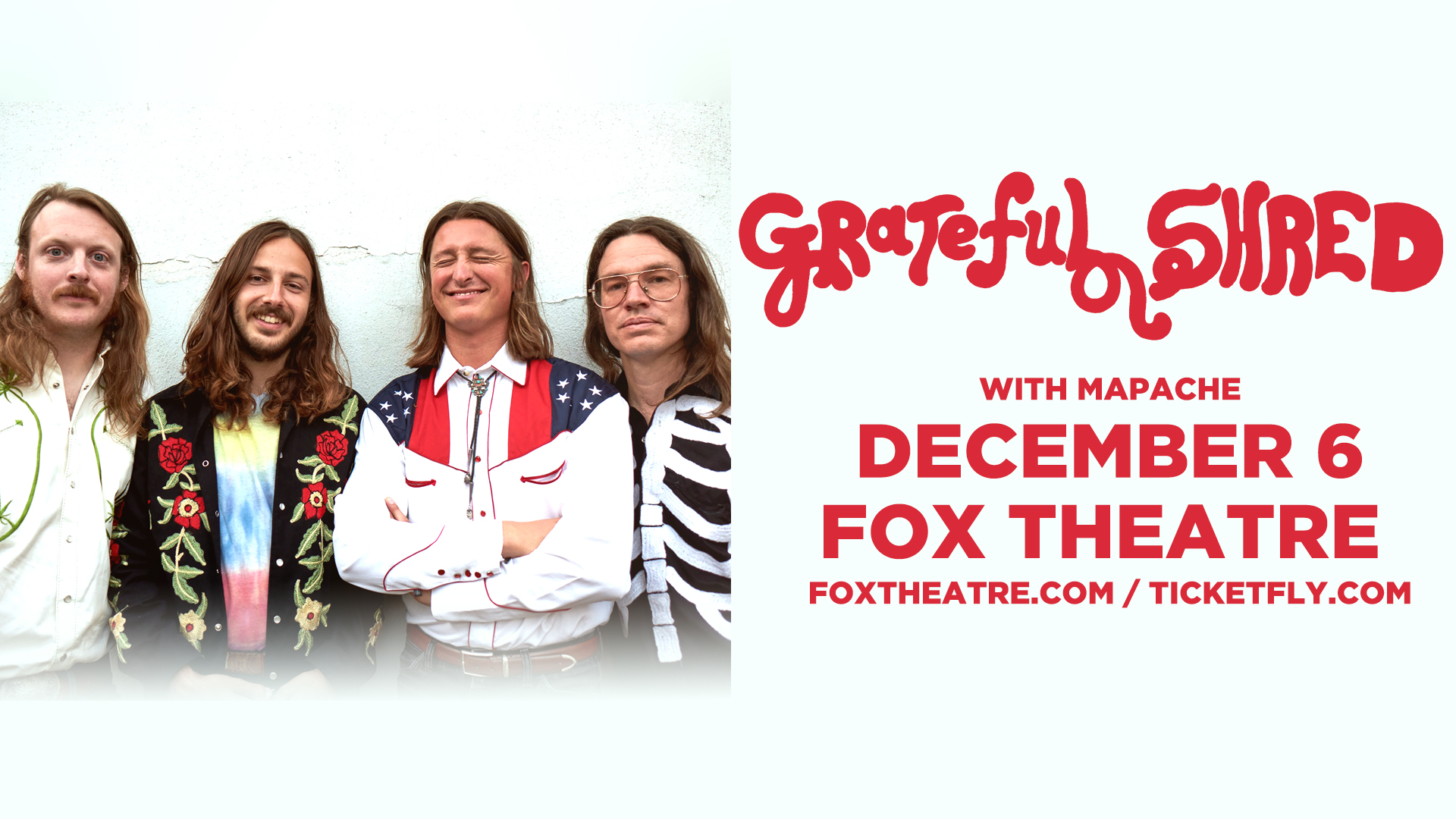 Grateful Shred @ The Fox Theatre | 12/6/18 | Preview