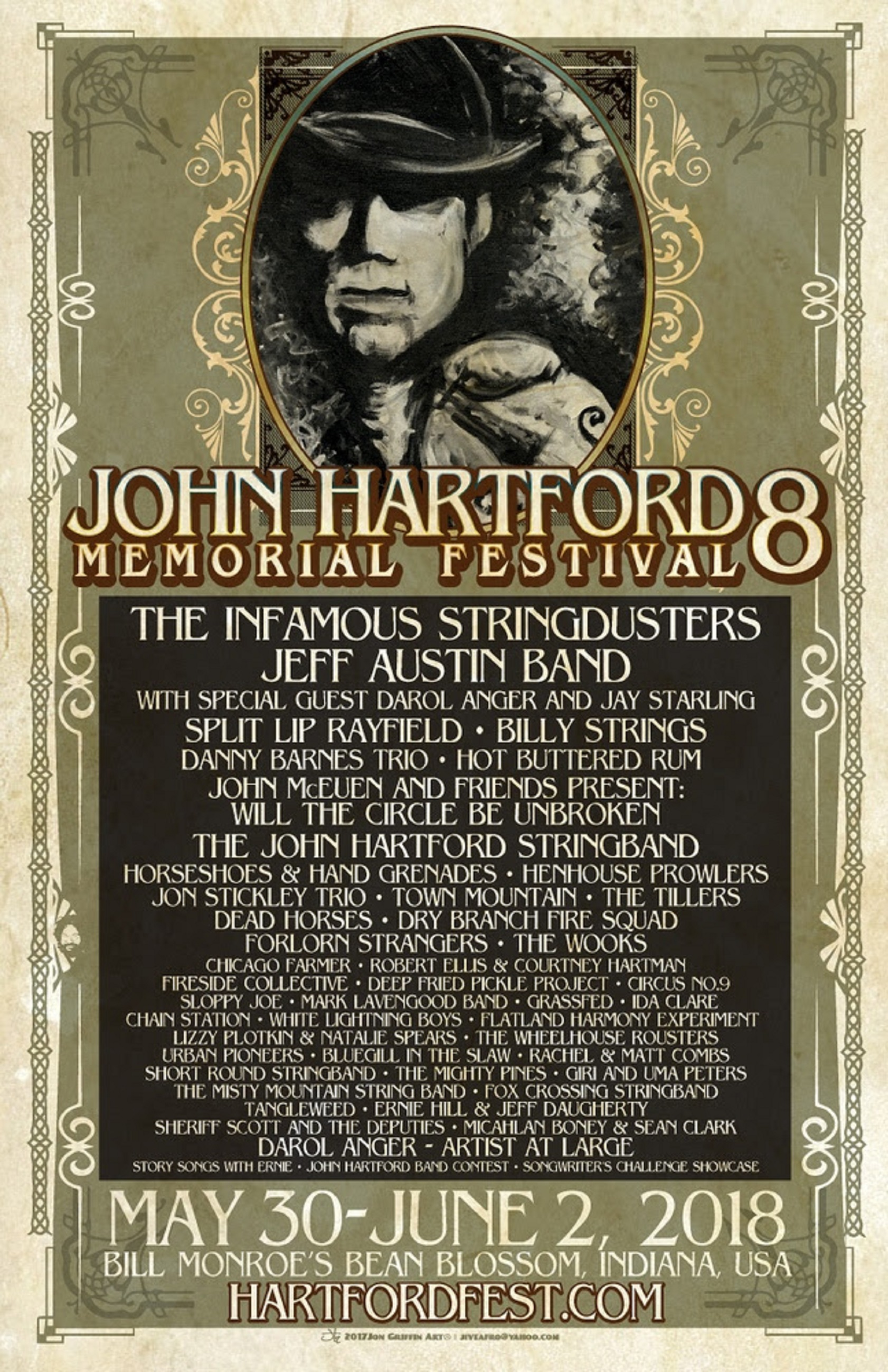 John Hartford Memorial Festival Announces 2018 Lineup!