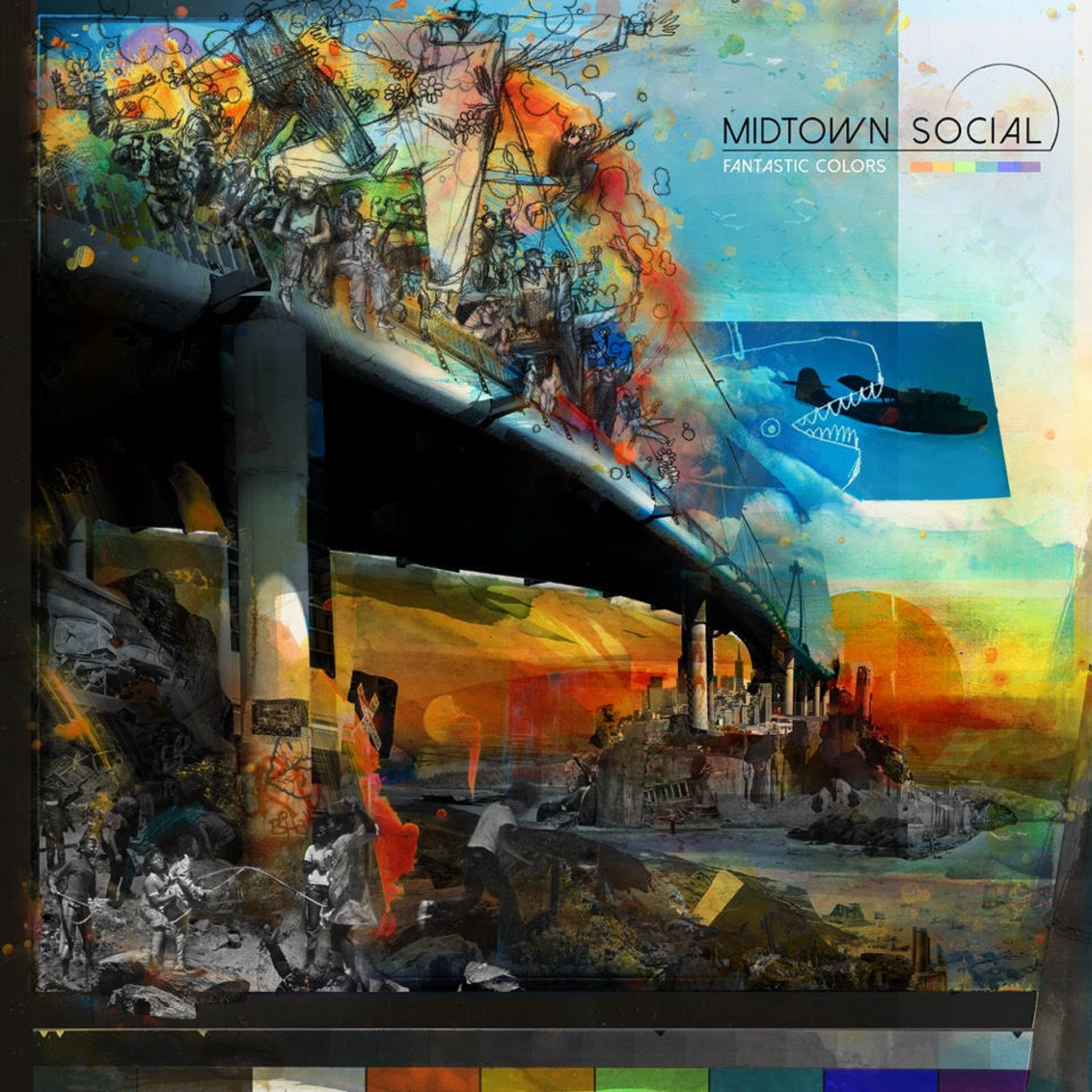 "Midtown Social Writes Love Letter to San Francisco on New Album ""Fantastic Colors"""