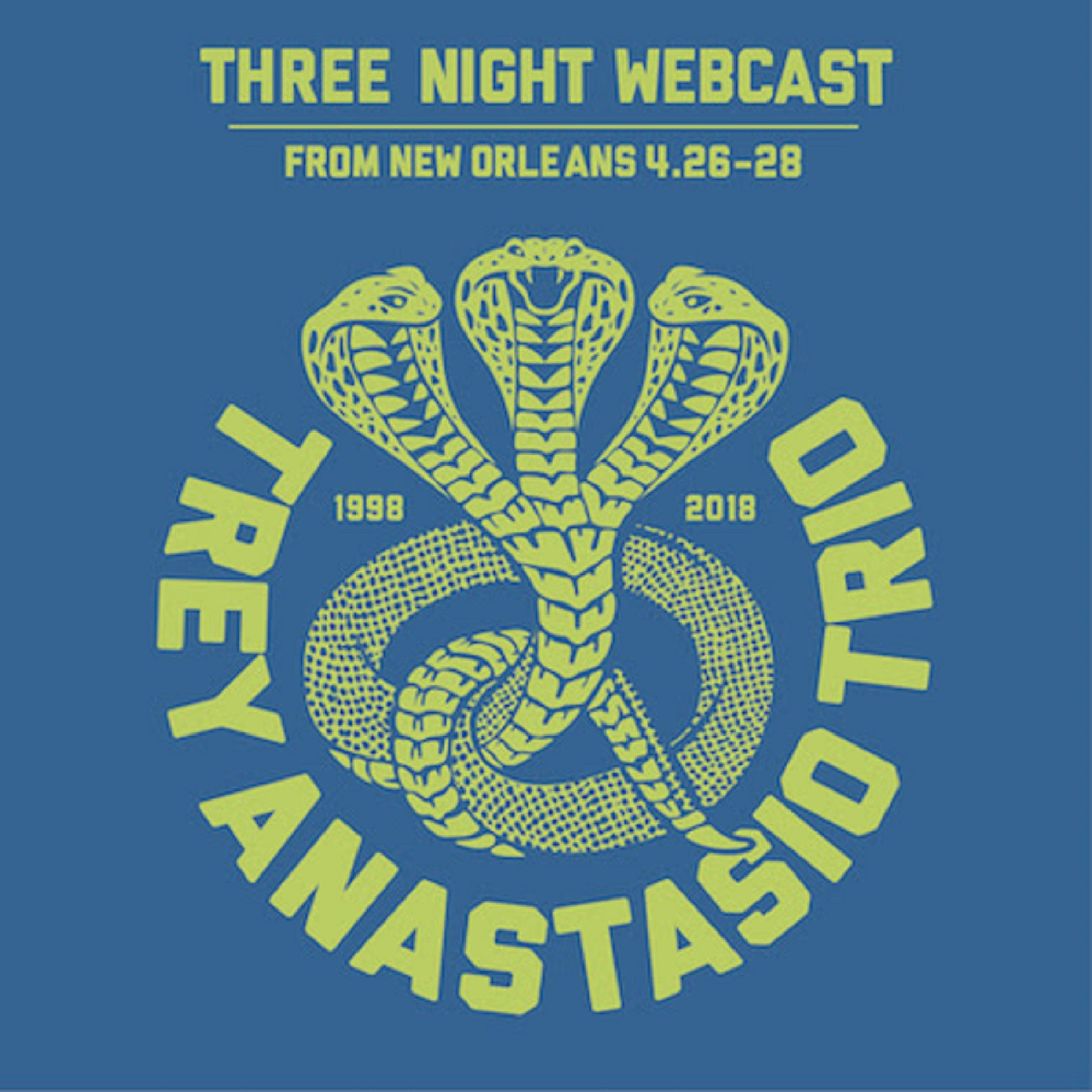 Three-Night Trey Anastasio Webcast from New Orleans