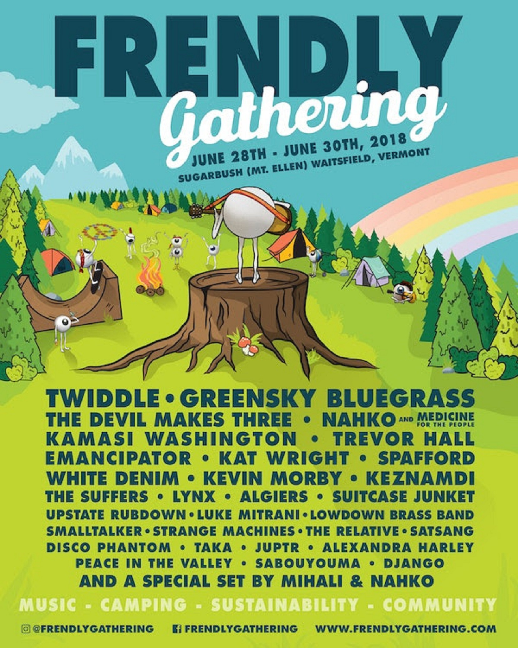 Frendly Gathering Announces 2018 Lineup