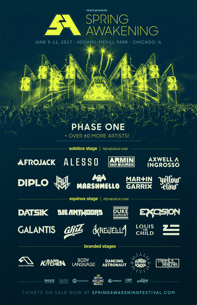 Spring Awakening Announces Phase 1 Lineup