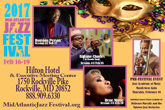 Experience Mardi Gras at the Mid‑Atlantic Jazz Festival