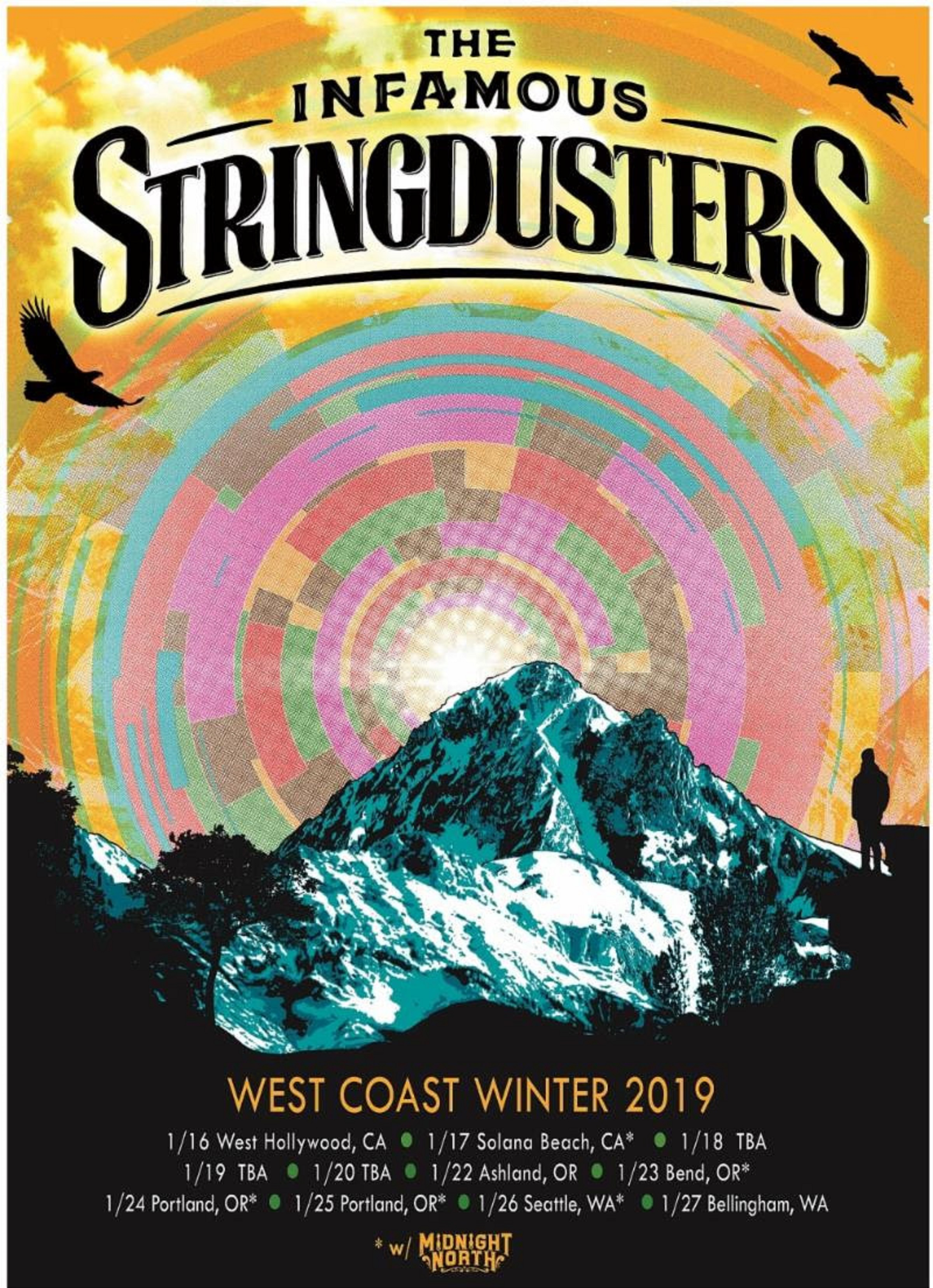 Infamous Stringdusters Announce 2019 Winter Tour