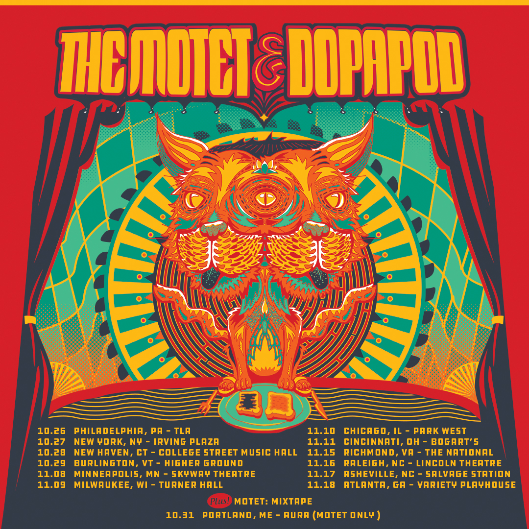 The Motet & Dopapod Announce Fall Tour