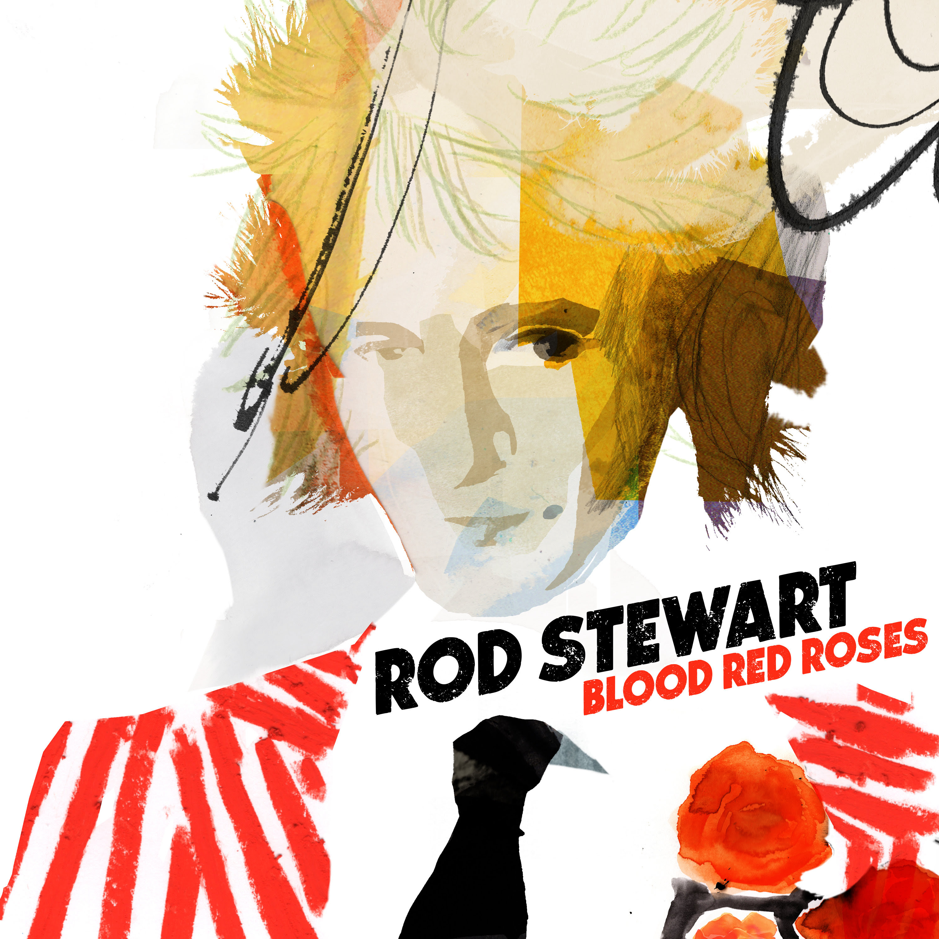 ROD STEWART'S NEW ALBUM BLOOD RED ROSES OUT NOW