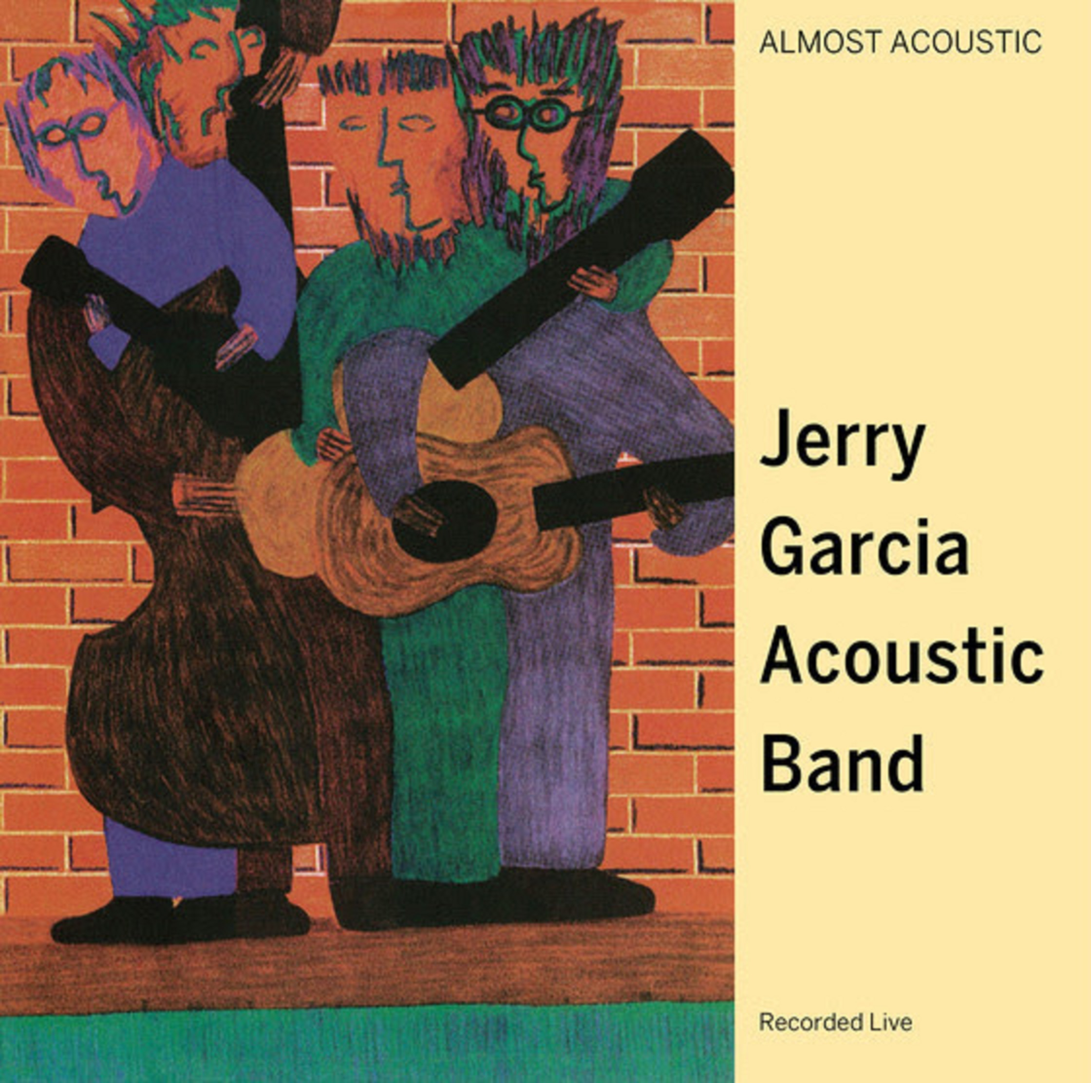 30th Anniversary Reissue Of Jerry Garcia Acoustic Band's ALMOST ACOUSTIC