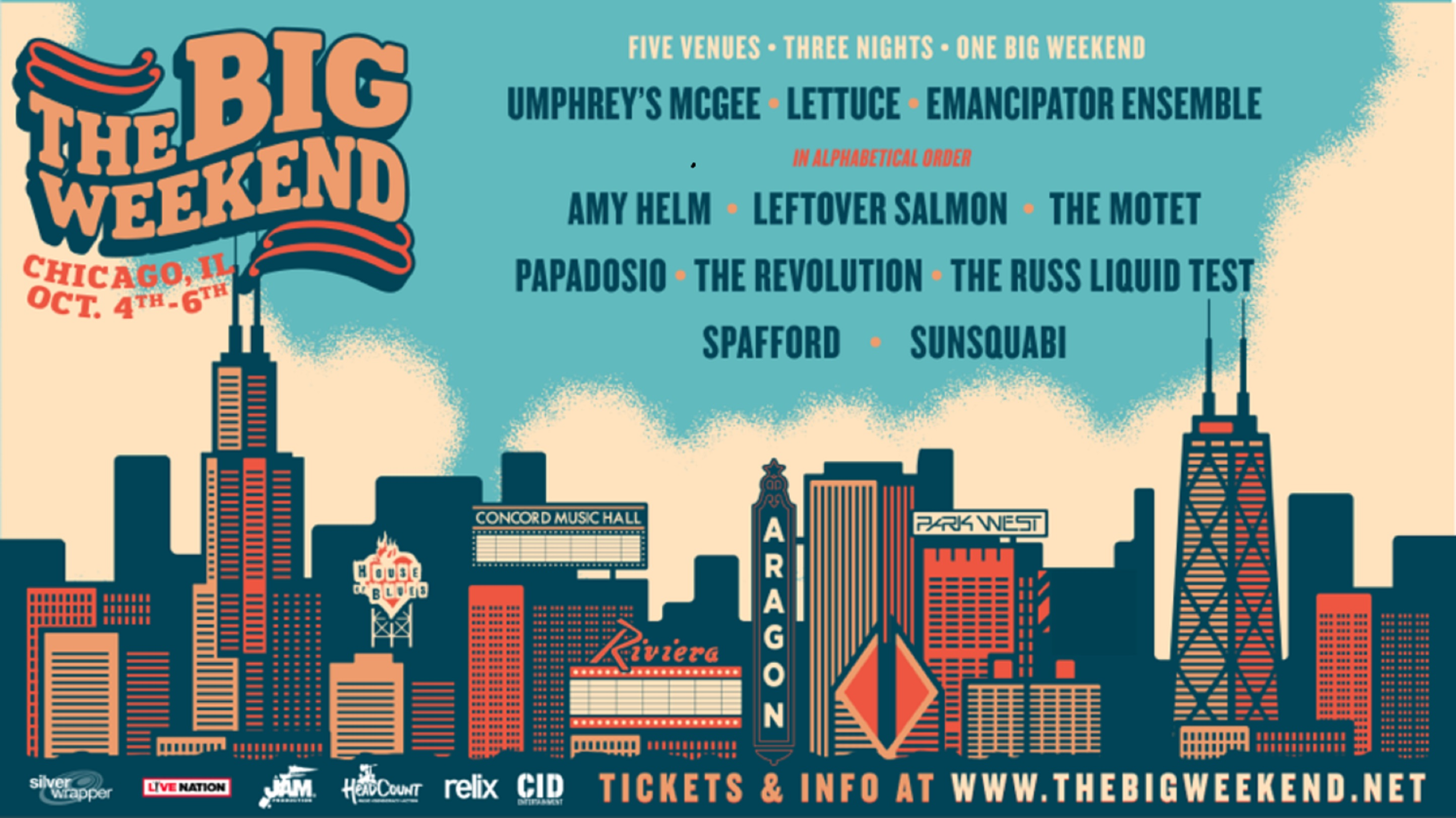 THE BIG WEEKEND Announces Inaugural Festival in Chicago