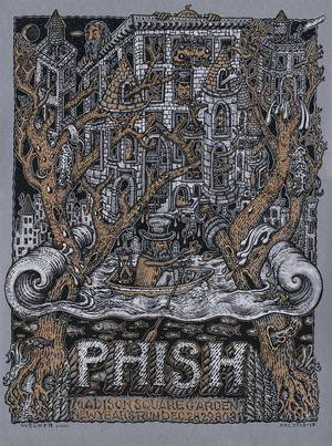 Phish Autographed New Years Eve Posters