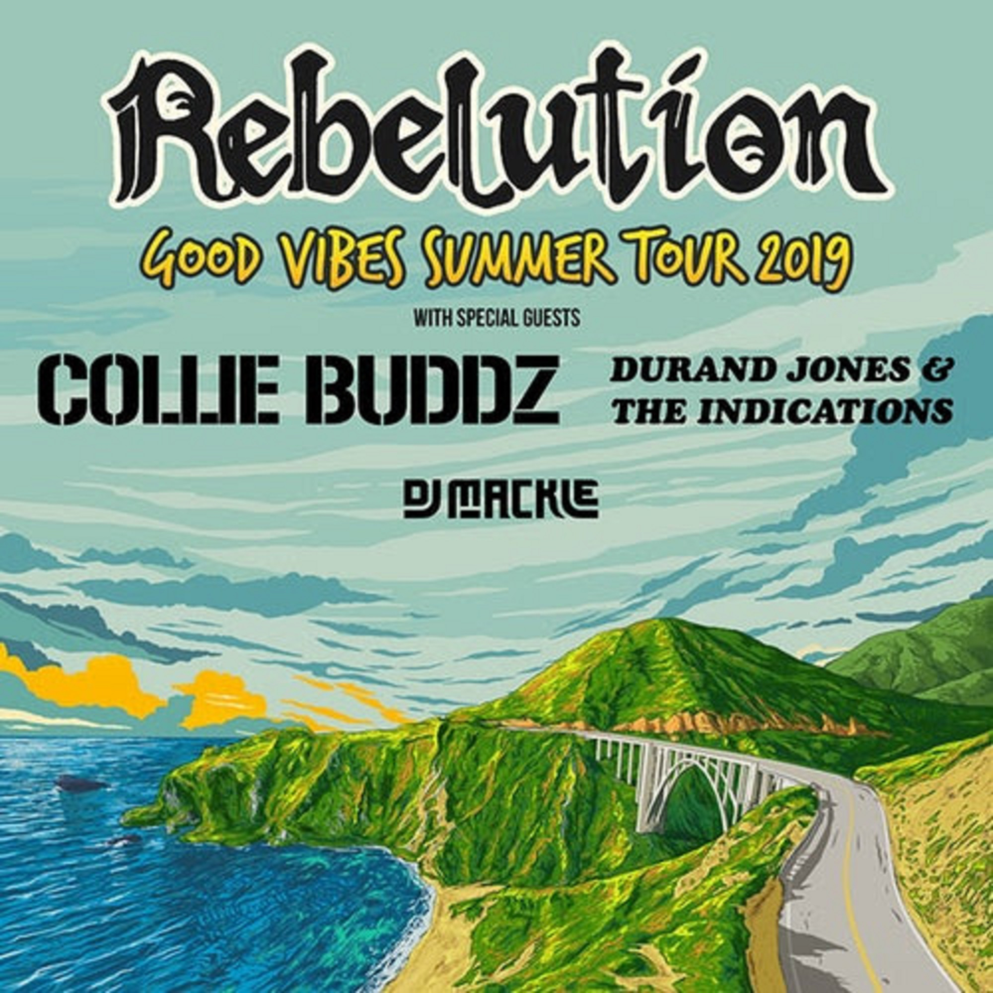 REBELUTION's Good Vibes Summer Tour Starts TODAY