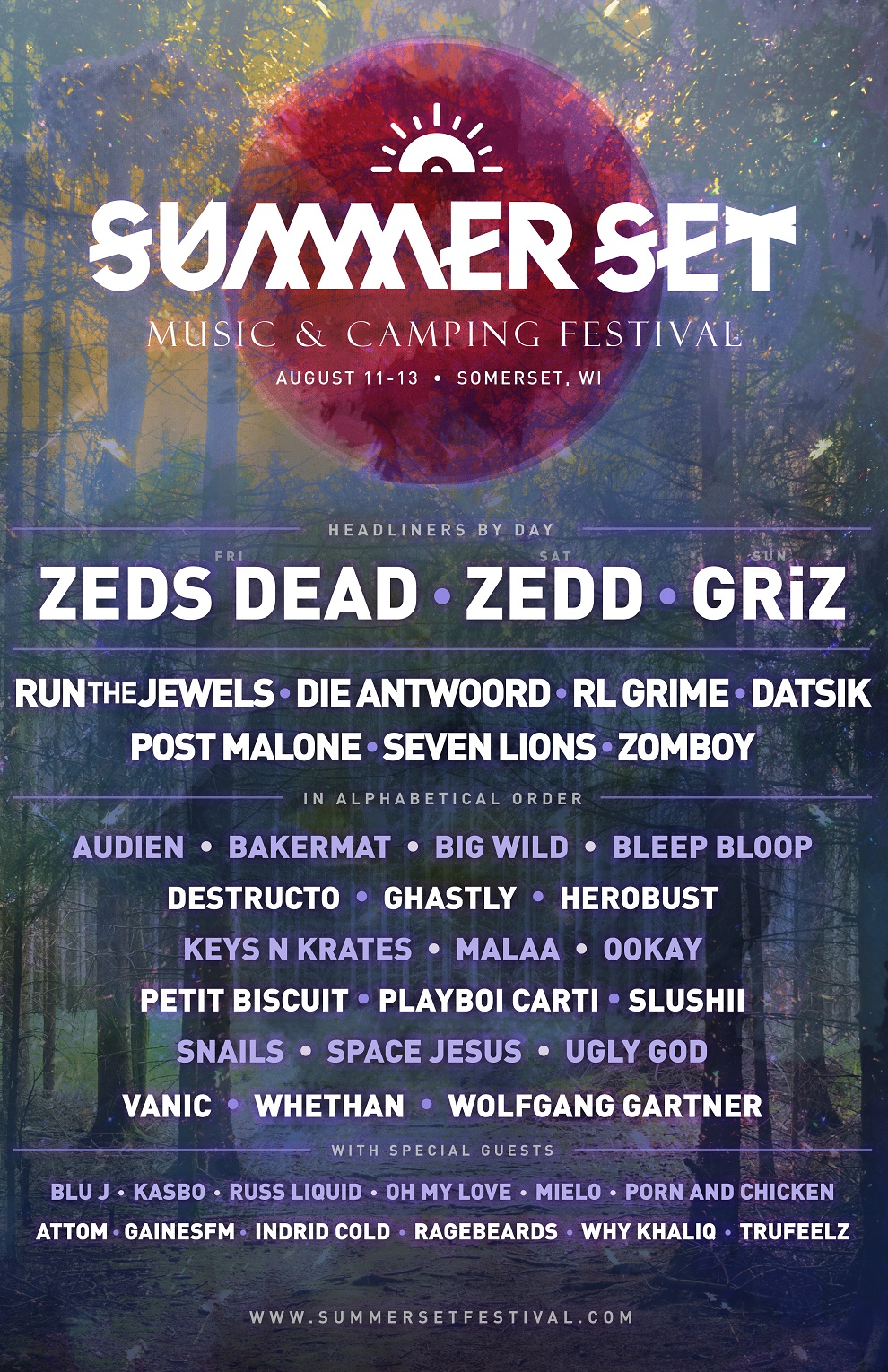 Summer Set Announces 2017 Lineup