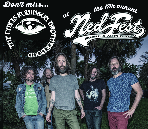 Chris Robinson Brotherhood will play NedFest 2015