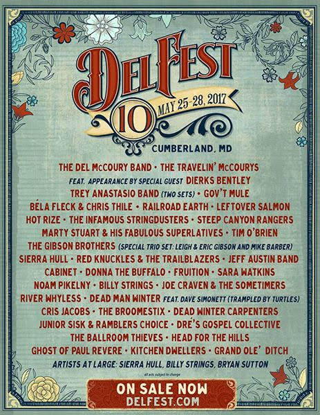 Delfest announces additions to 2017 Lineup