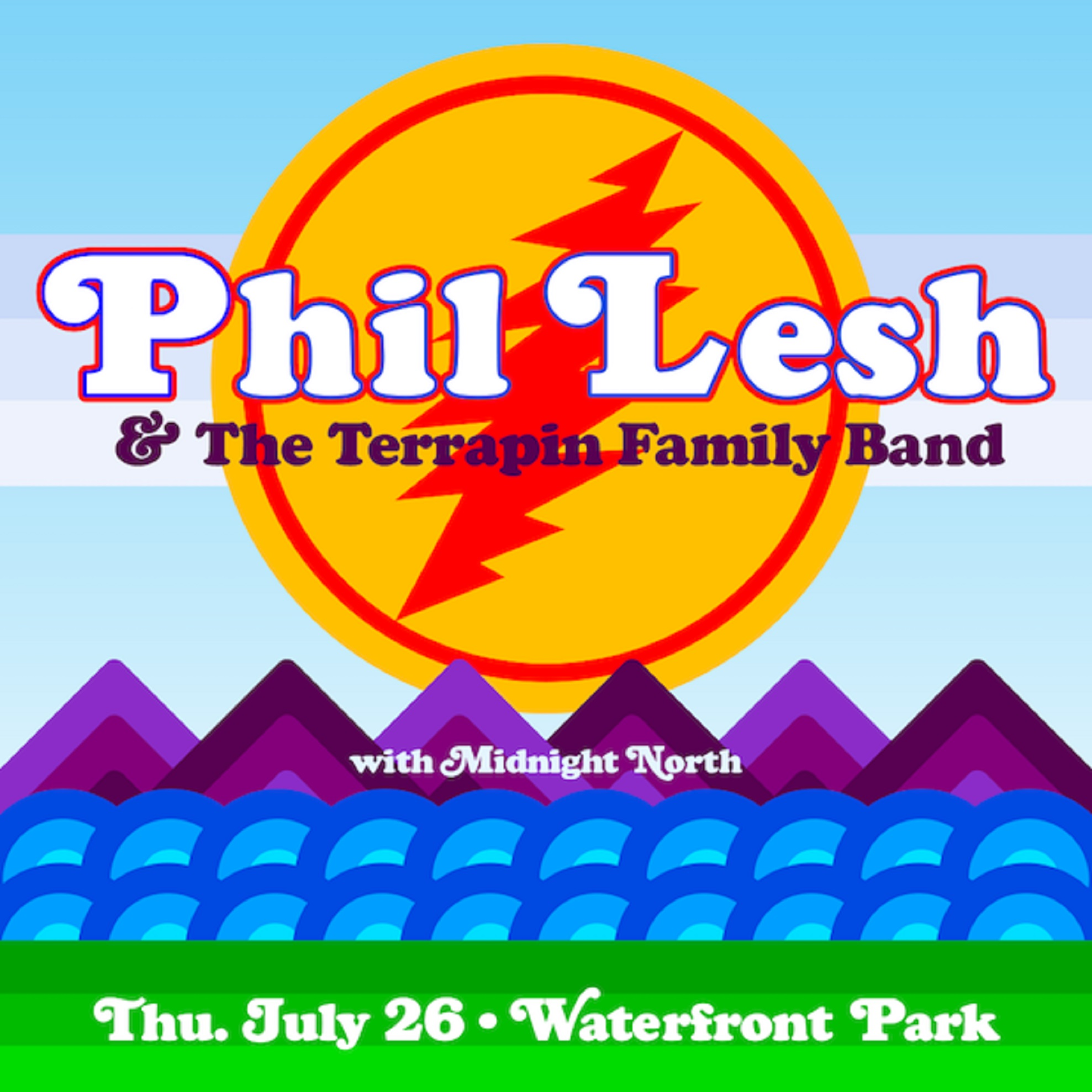 Phil Lesh to Perform at Burlington's Waterfront Park