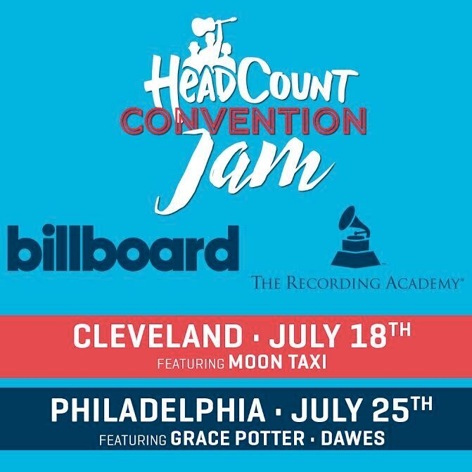 Grace Potter, Dawes, Moon Taxi to Play Dem. + GOP Convention 'Jams