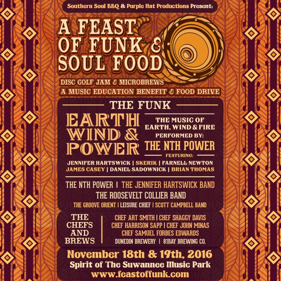 A Feast of Funk & Soul Food @ Suwannee