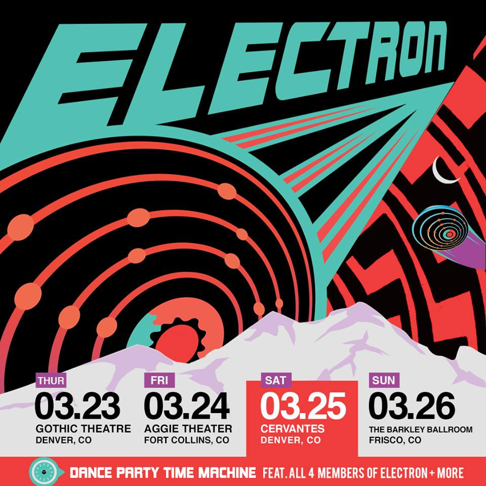 Dance Party Time Machine with Electron