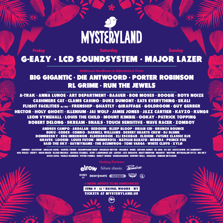 Mysteryland USA 2017 Lineup is Here