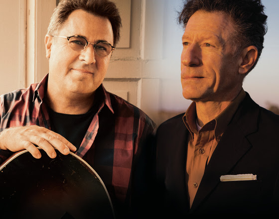 Vince Gill and Lyle Lovett Reunite for West Coast tour