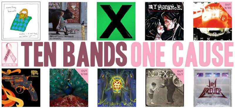 Ten Bands One Cause | Benefit Gilda's Club