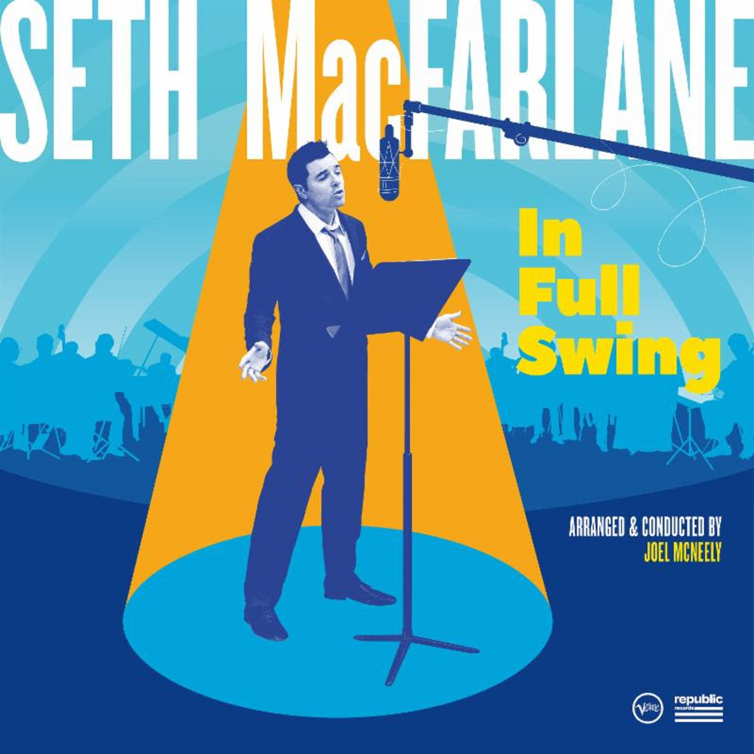 Seth MacFarlane's new album - 'In Full Swing'