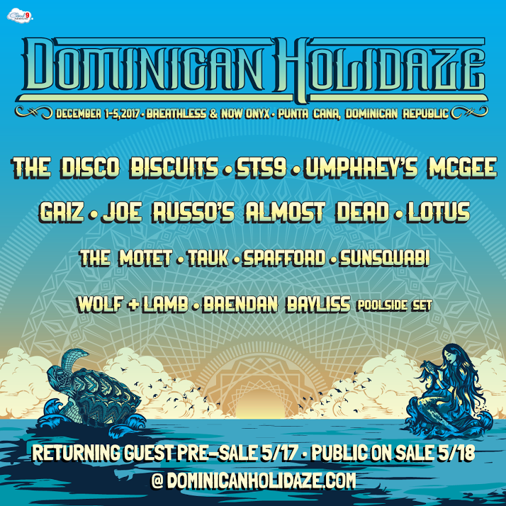 Dominican Holidaze '17 Lineup Announced