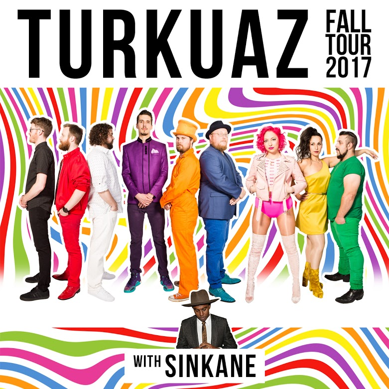 Turkuaz Announces Fall West Coast Tour