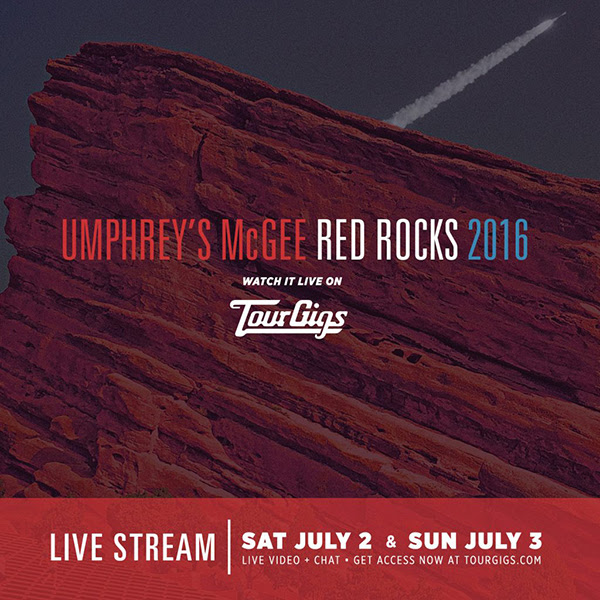Umphrey's McGee Red Rocks Couch Tour