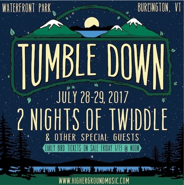 Twiddle's Tumble Down to Return to Burlington