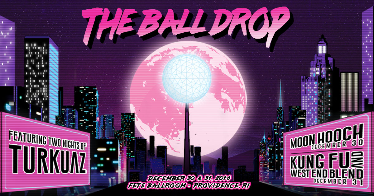 Turkuaz Announces The Ball Drop New Years Eve