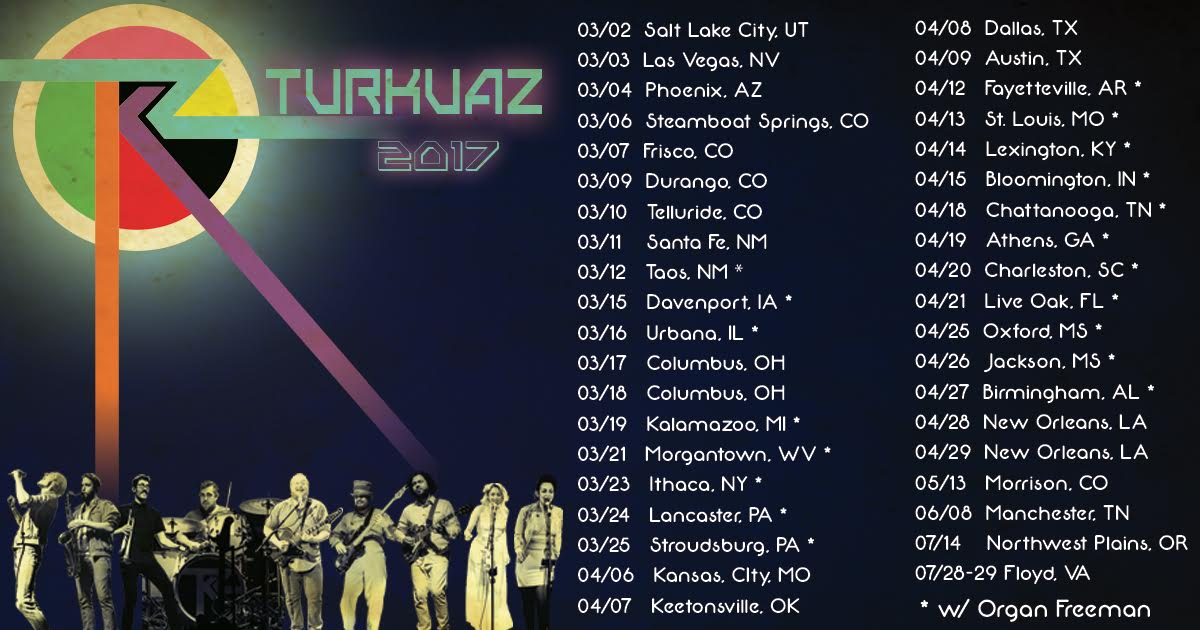 Turkuaz Announce Spring 2017 Tour Dates