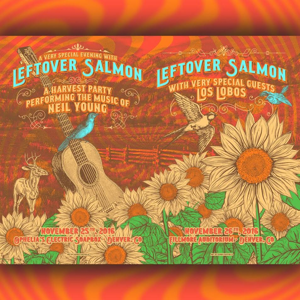 Leftover Salmon Announces Special Thanksgiving Weekend