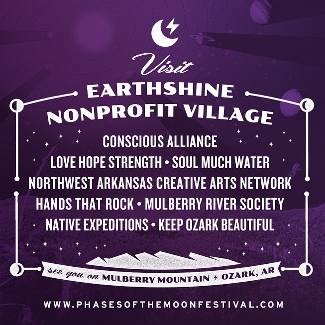 Phases of the Moon Announces EarthShine Nonprofit Village