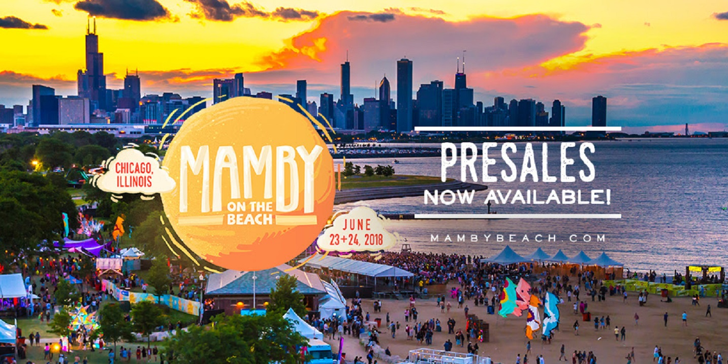 MAMBY ON THE BEACH RELEASES 2018 PRESALE TICKETS