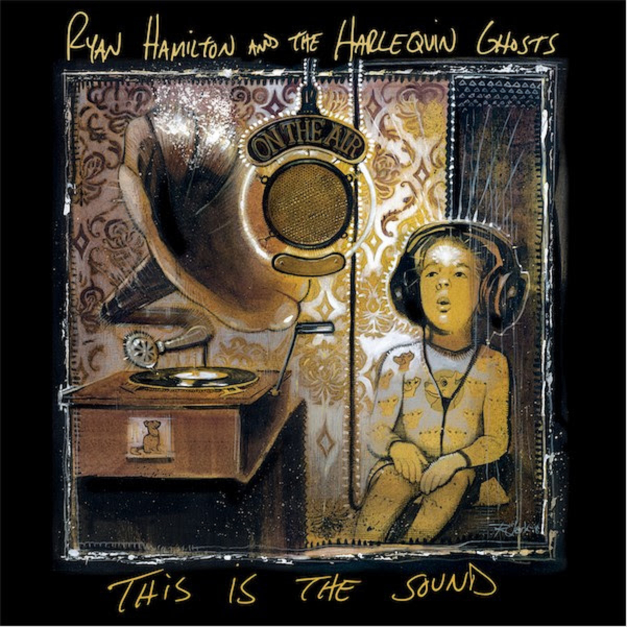Ryan Hamilton and The Harlequin Ghosts Release Lyric Video for New Single