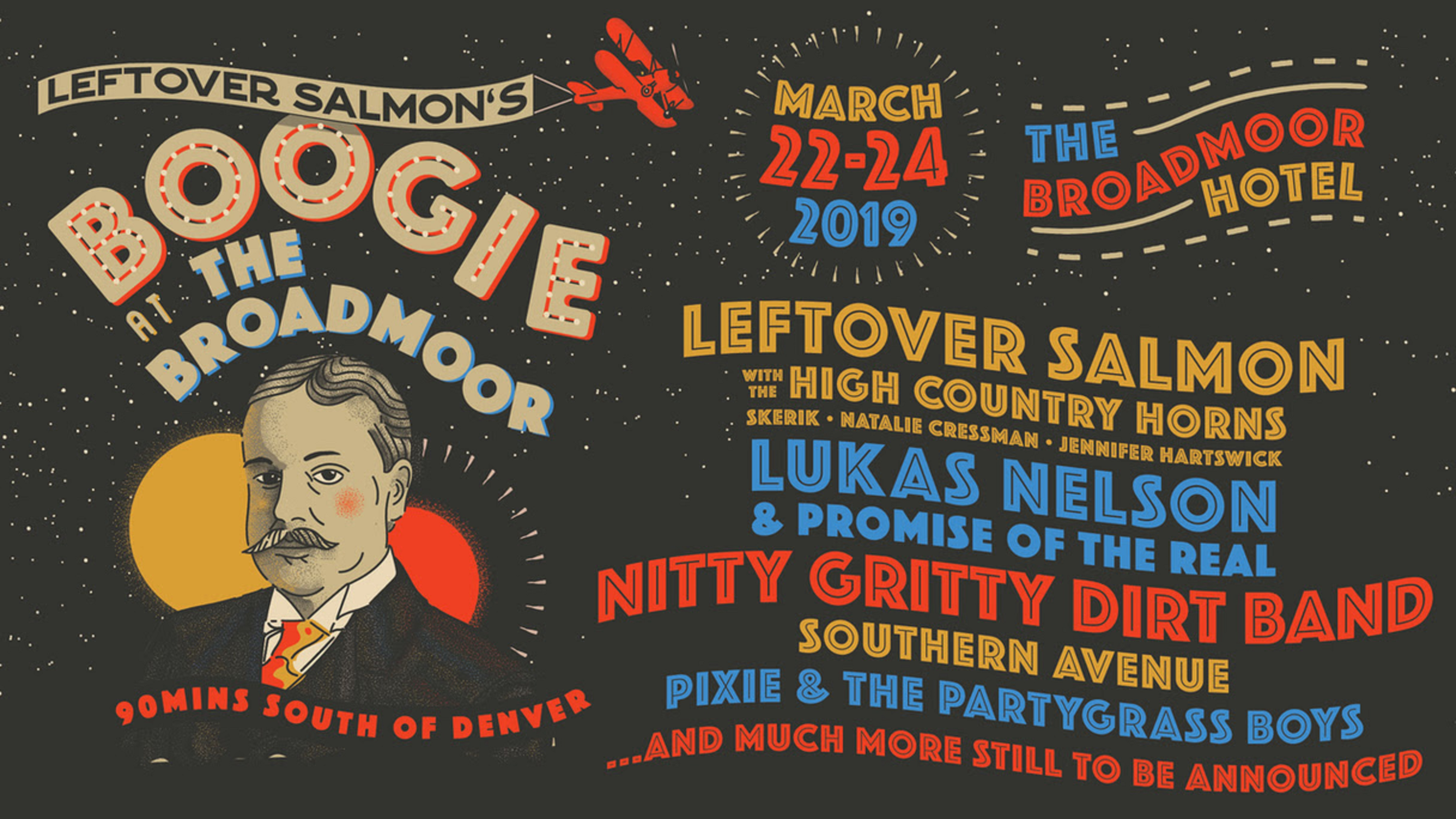 Lukas Nelson, Nitty Gritty Dirt Band & Southern Ave Added to Leftover Salmon's Boogie At The Broadmoor