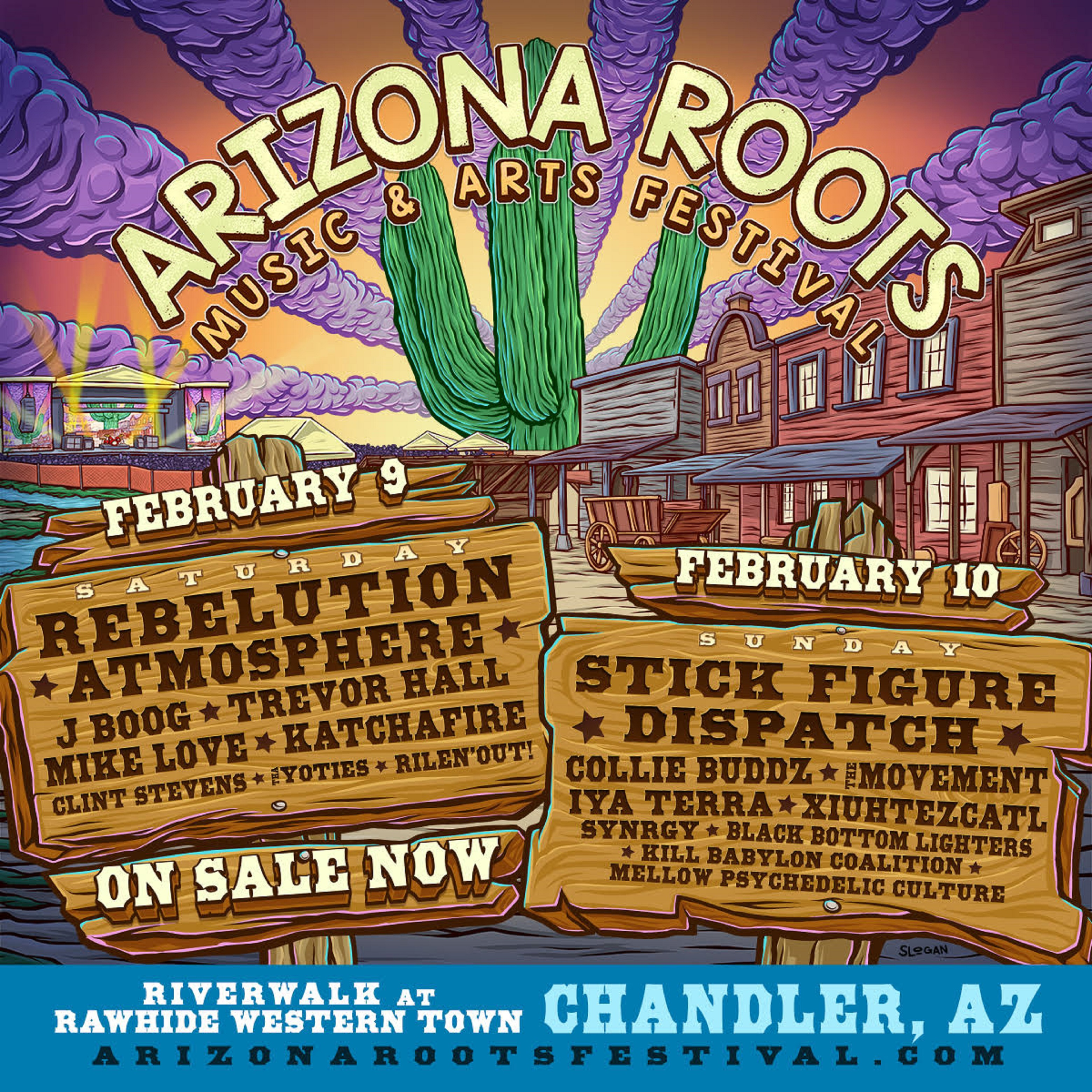 Inaugural Arizona Roots Music & Arts Festival Announces Single Day Lineup