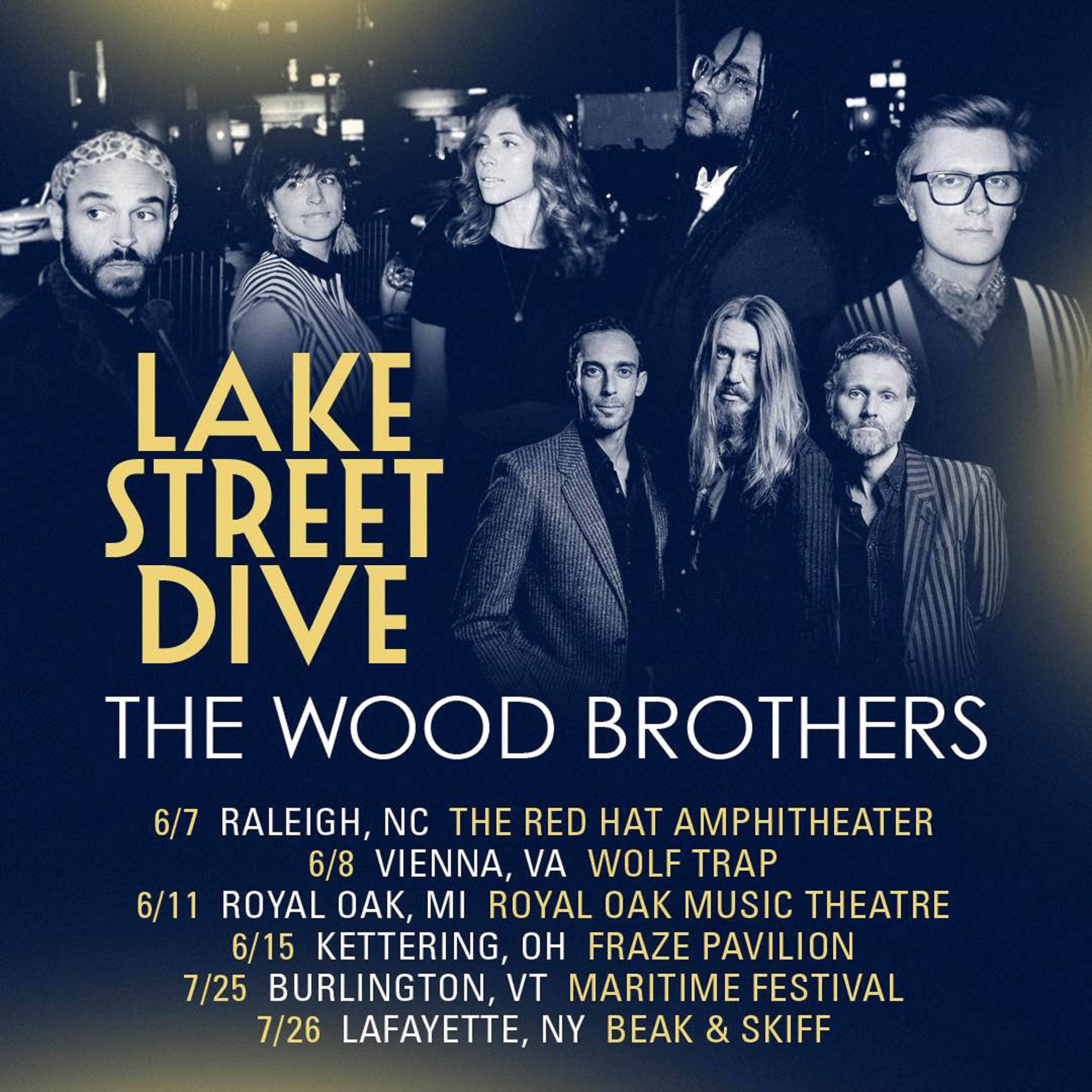 The Wood Brothers + Lake Street Dive Tour Together This Summer