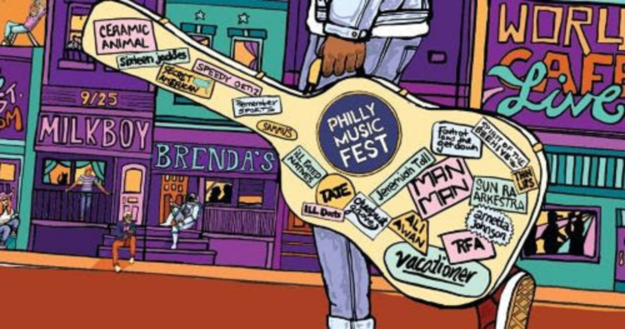 PHILLY MUSIC FEST ANNOUNCES 2019 LINEUP