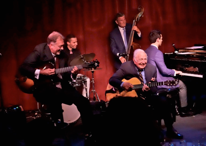 Bucky Pizzarelli's 91st Birthday Bash