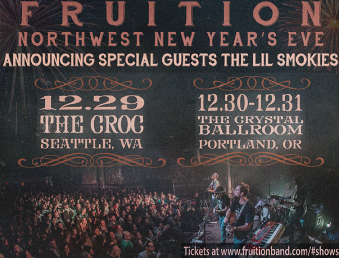 Fruition teams up with The Lil Smokies for NYE Run