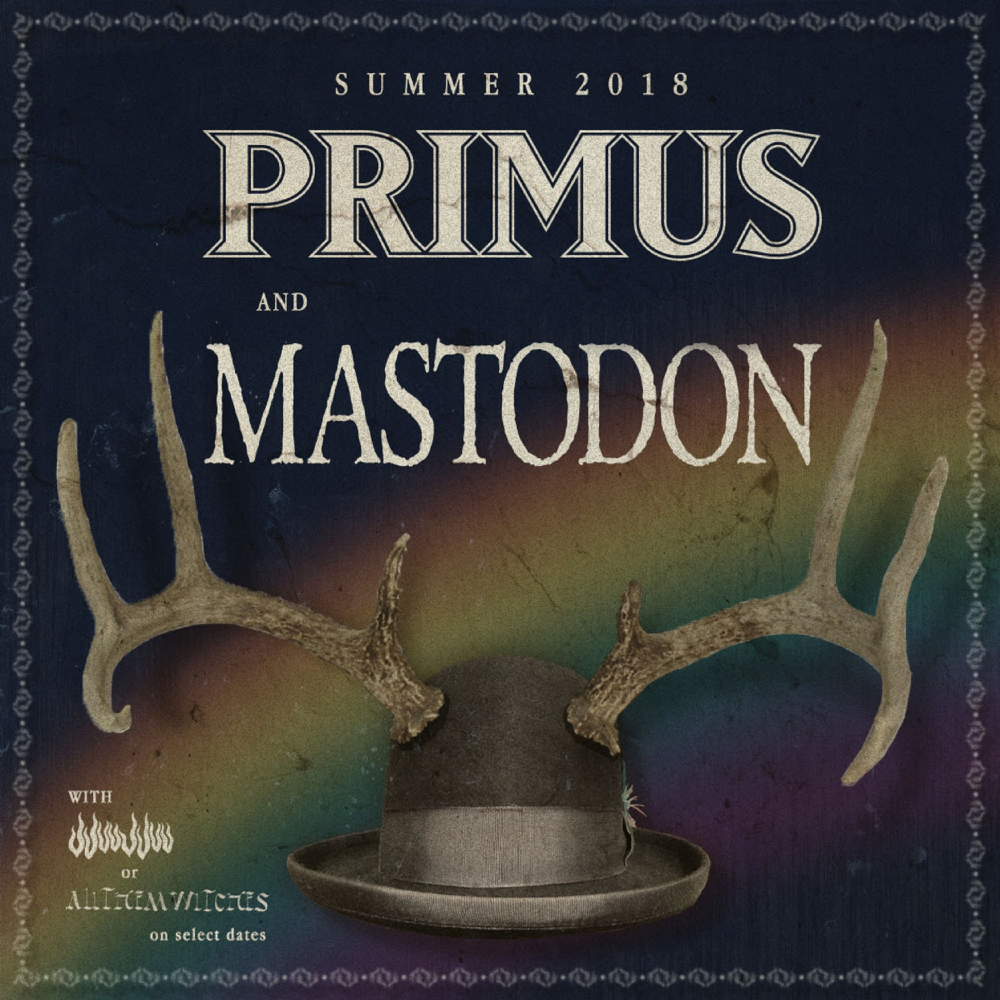 Primus Announces Summer Tour with Mastodon