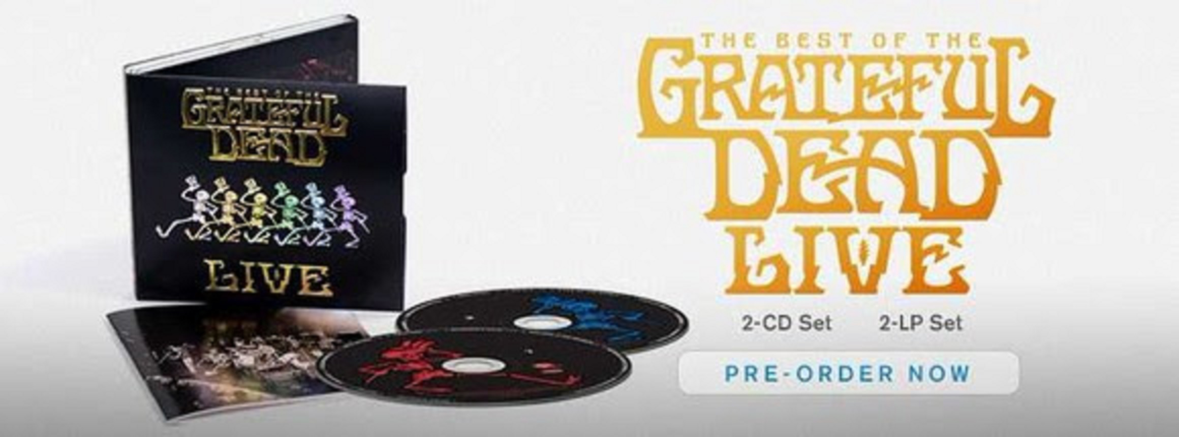 Announcing The Best Of The Grateful Dead Live